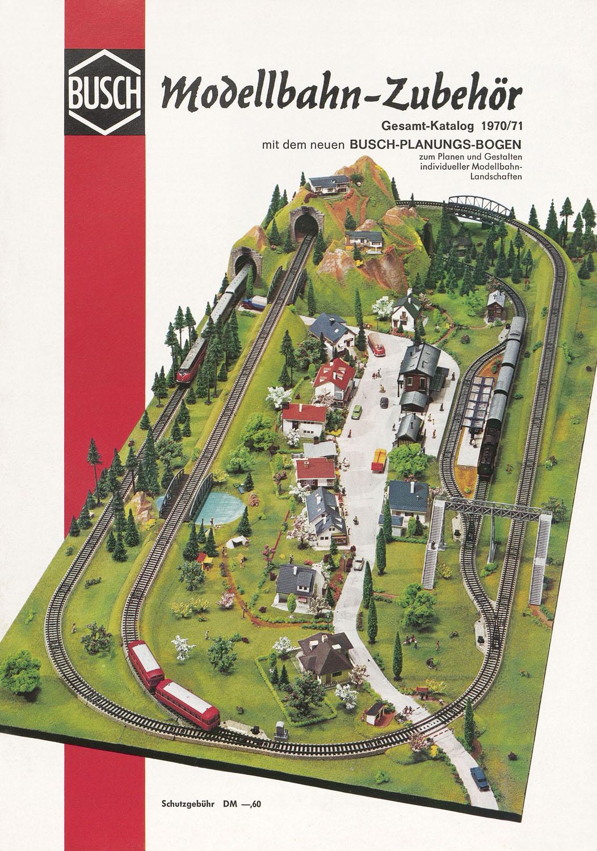conrad-antiquario Katalogarchiv Busch Modellbahn-Zubehör