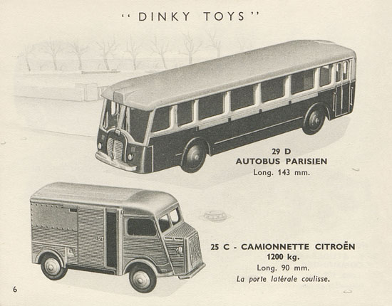Dinky Toys catalogue 1955