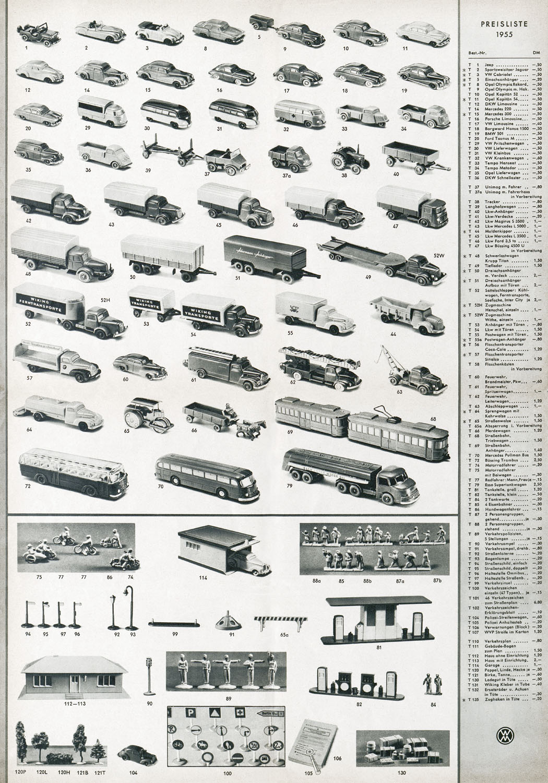 conrad antiquario katalogarchiv wiking 1955. Black Bedroom Furniture Sets. Home Design Ideas