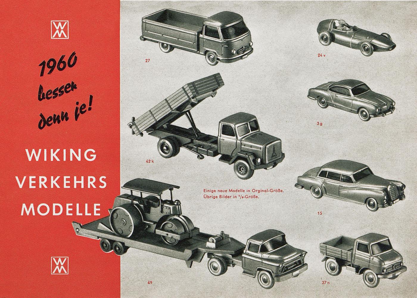 conrad antiquario katalogarchiv wiking verkehrsmodelle 1960. Black Bedroom Furniture Sets. Home Design Ideas