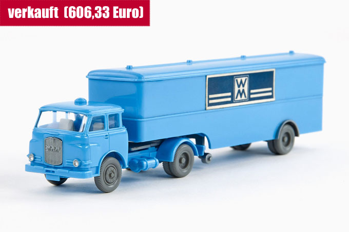 Wiking MAN 10.230 Koffersattelzug WM
