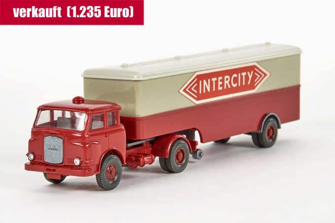 Wiking MAN 10.230 Koffer-LKW Intercity