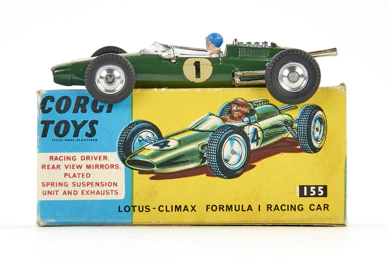 c94ac3f0a6fb Corgi Toys 155 Lotus-Climax Formula 1 Racing Car